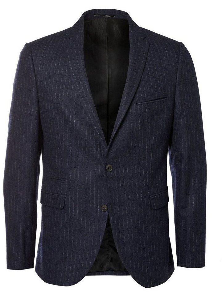 SELECTED Slim-Fit- Blazer in DARK NAVY.