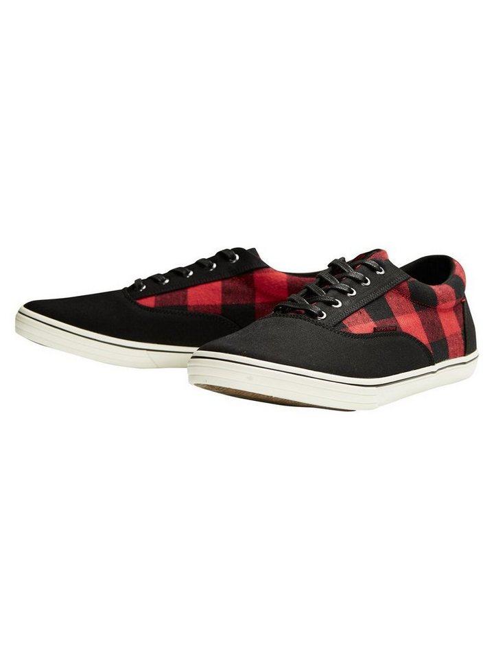 Jack & Jones Leinen- Sneaker in Anthracite