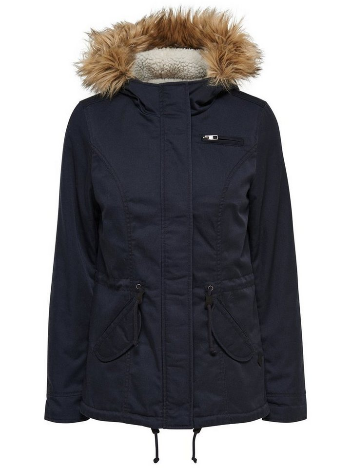 Only Parka in Blue Graphite