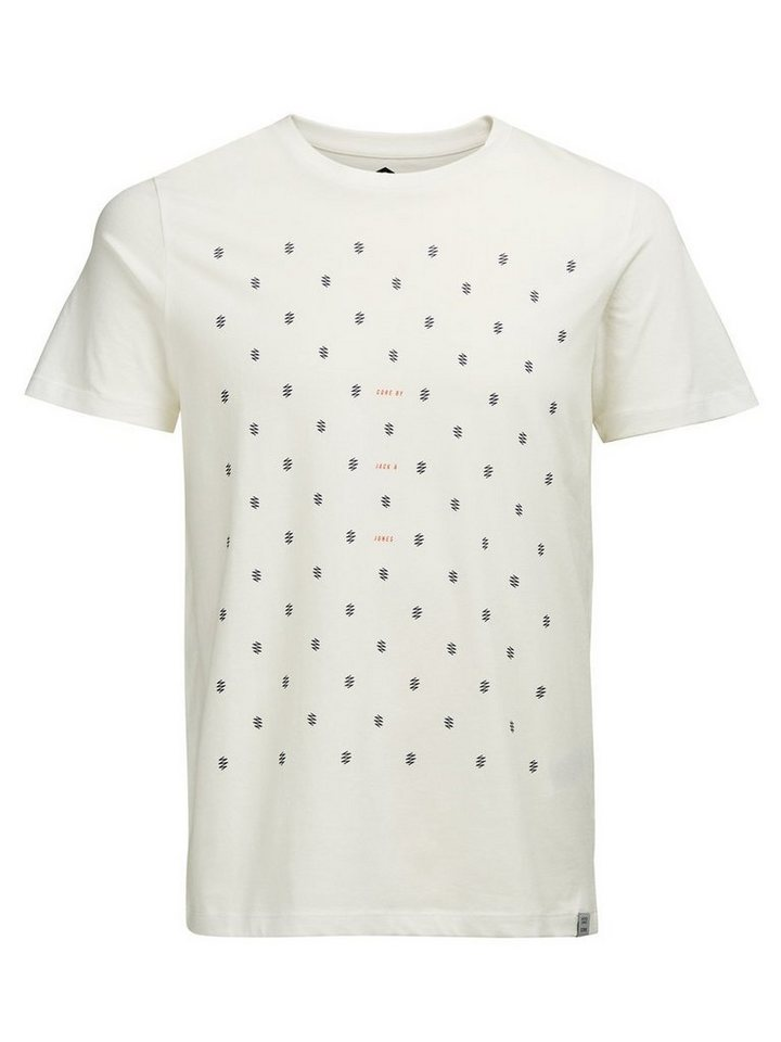 Jack & Jones Grafik- T-Shirt in BLANC DE BLANC