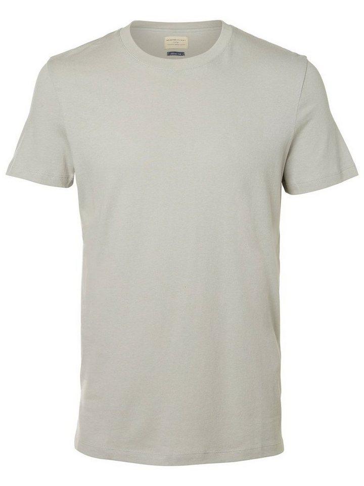 SELECTED O-Ausschnitt T-Shirt in Mirage Gray