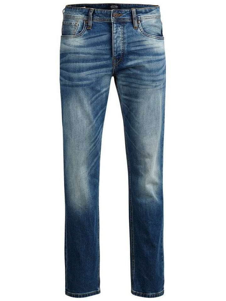 Jack & Jones Mike Original GE 616 Comfort Fit Jeans in Blue Denim