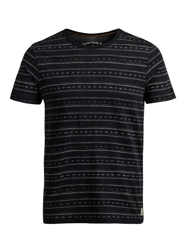 Jack & Jones Bedrucktes T-Shirt in Caviar