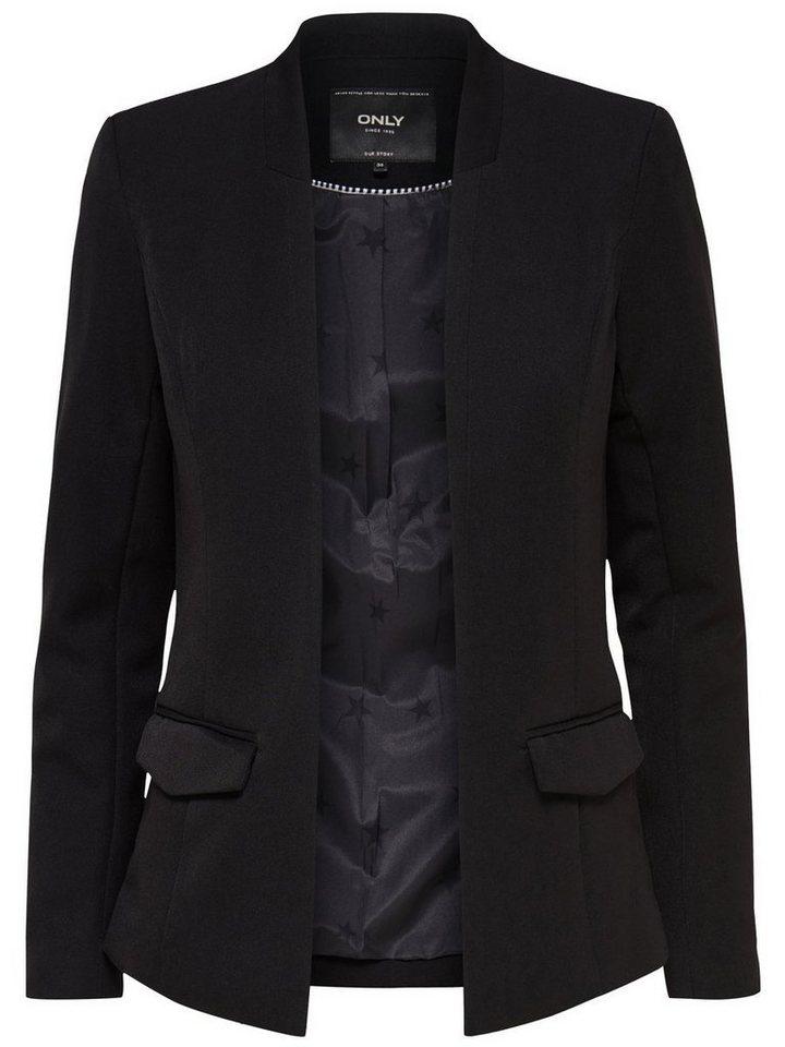 Only Einfarbiger Blazer in Black