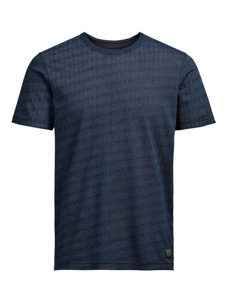 Jack & Jones Detailliertes T-Shirt in MOOD INDIGO