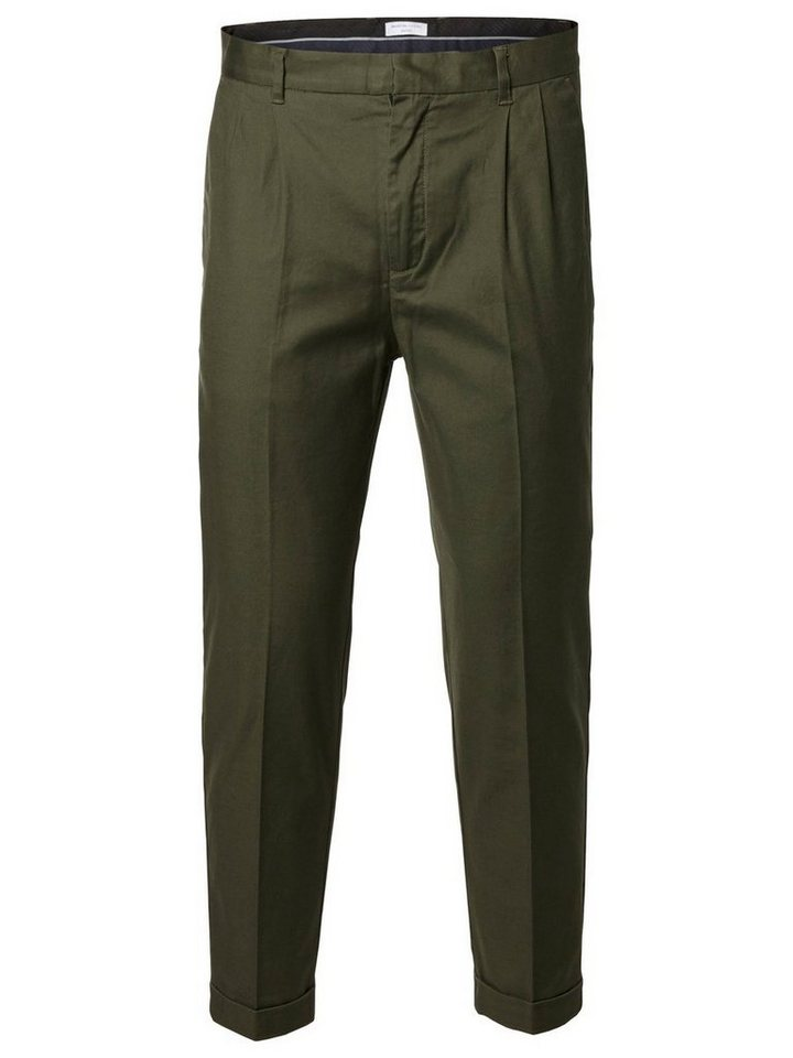SELECTED Slim-Fit- Hose in FOREST NIGHT
