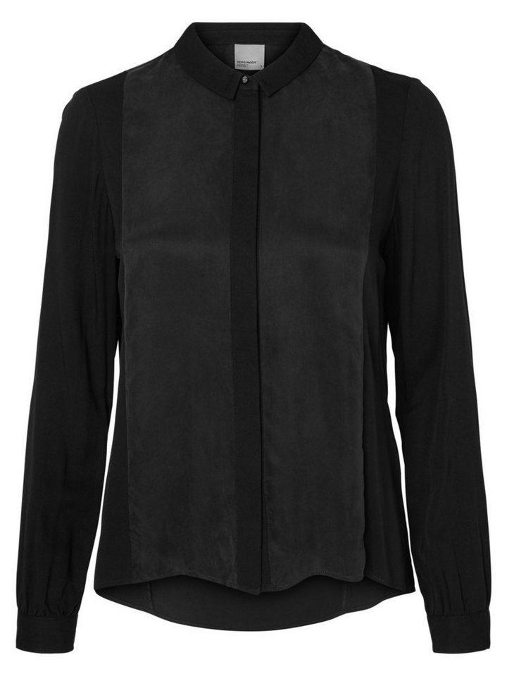 Vero Moda Langärmeliges Hemd in Black