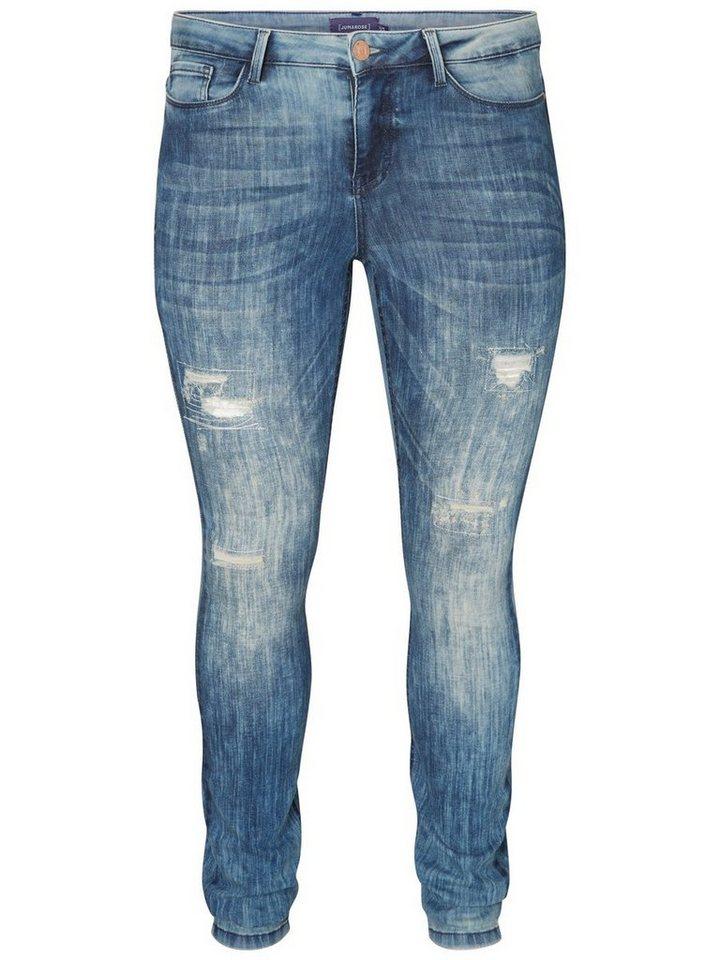 JUNAROSE JRFIVE Jeans in Medium Blue Denim