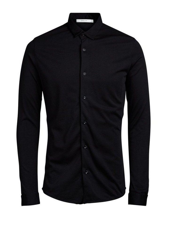 Jack & Jones Langarmhemd in BLACK 1