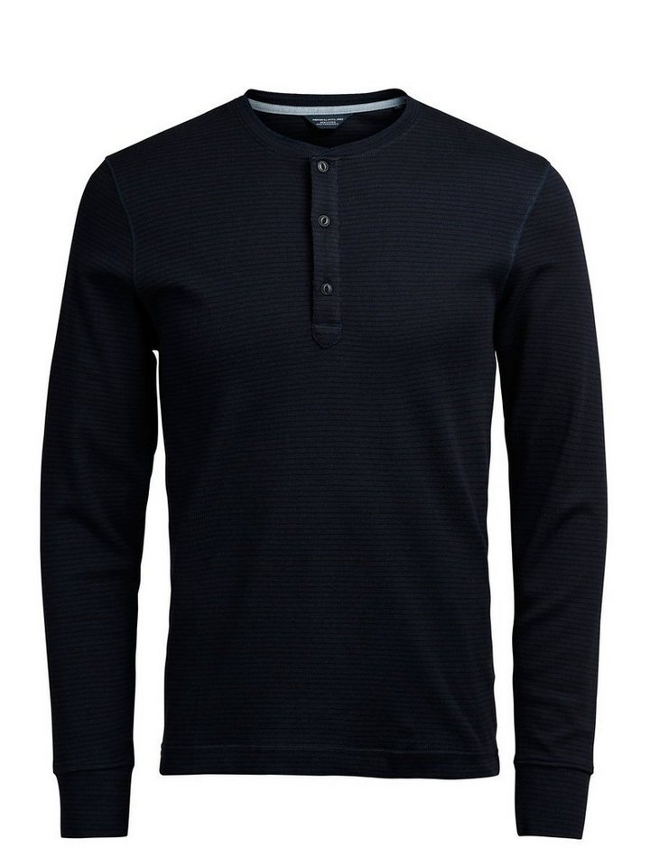 Jack & Jones T-Shirt mit langen Ärmeln in NAVY BLAZER 1