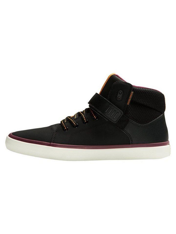 Jack & Jones Mid cut Sneaker in Anthracite