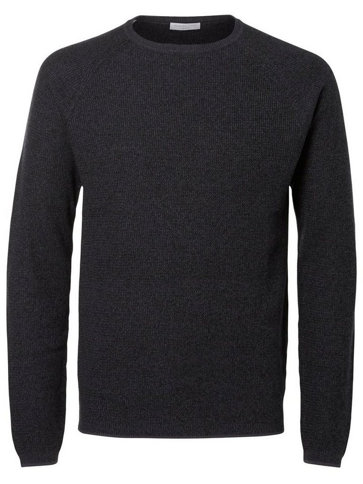 SELECTED Crew-Neck- Strickpullover in Blue Nights