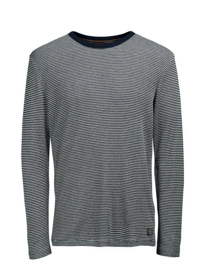 Jack & Jones Melange- Sweatshirt in TOTAL ECLIPSE