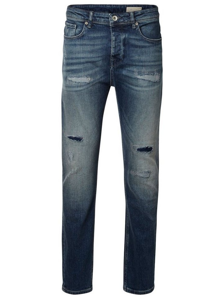 SELECTED Anti-Fit- Jeans in Light Blue Denim