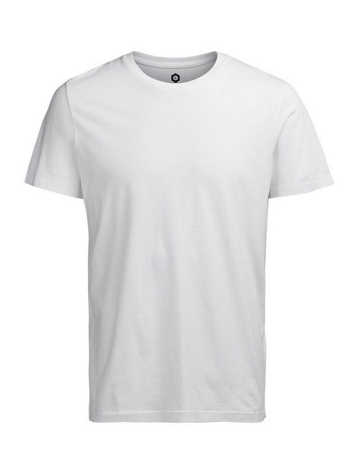 Jack & Jones Lässiges T-Shirt in White