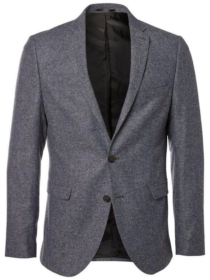 SELECTED Slim-Fit- Blazer in GREY MELANGE
