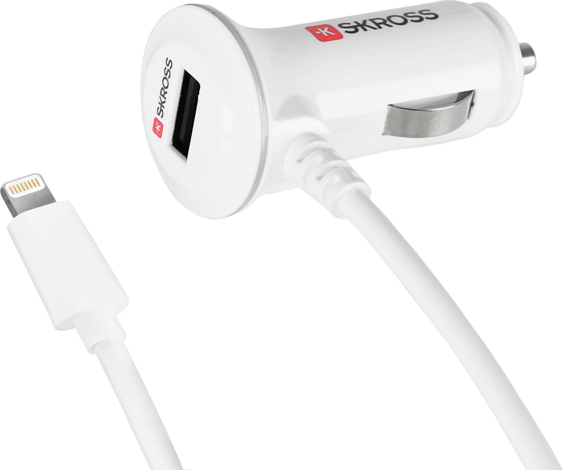 SKROSS Autoladegerät »Midget PLUS with Lightning Connector USB Car Charg«