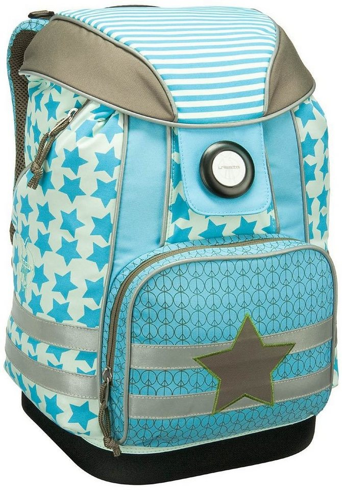 Lässig 4Kids Schoolbag in Starlight Oliv
