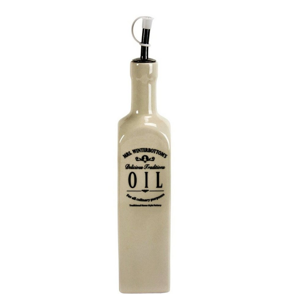 BUTLERS MRS WINTERBOTTOMS »Ölflasche« in creme