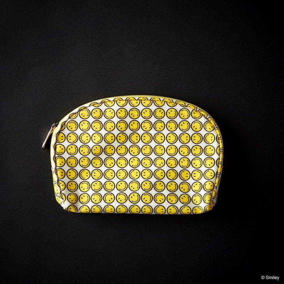 BUTLERS SMILEY »Aufbewahrungstasche« in gelb-schwarz