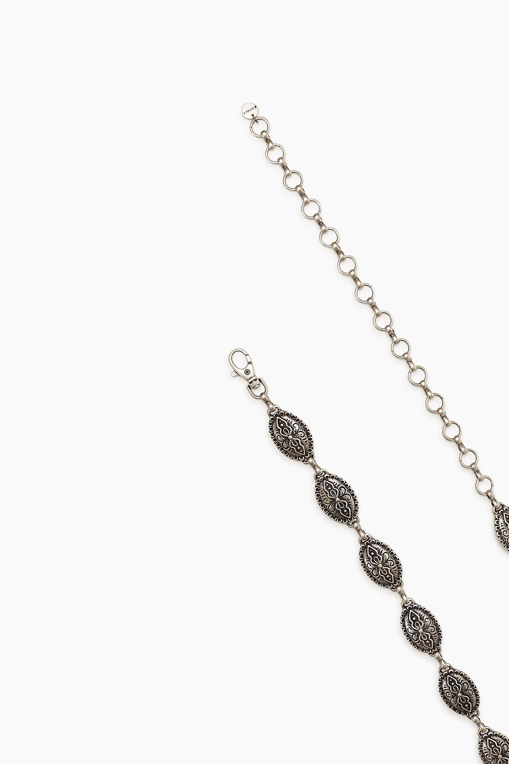ESPRIT CASUAL Made in Italy: Kettengürtel aus Silbermetall