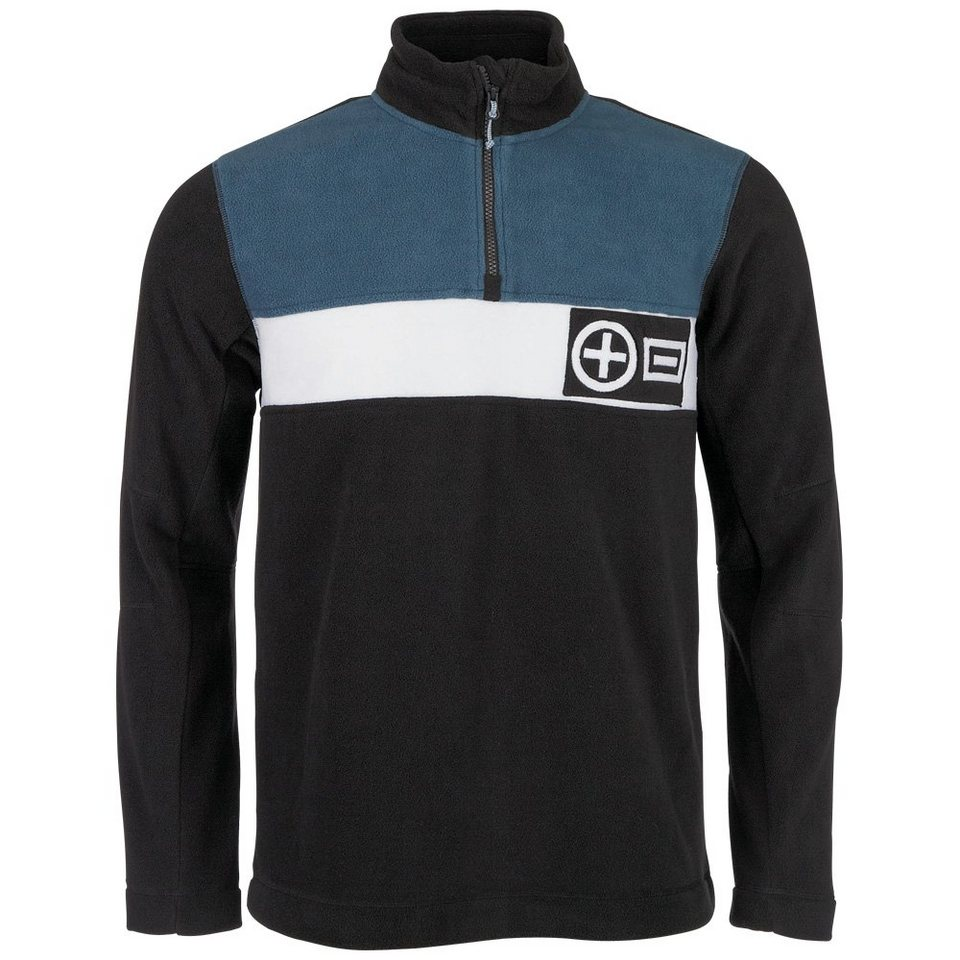 Chiemsee Flecce Pullover »OLINDO« in meteor