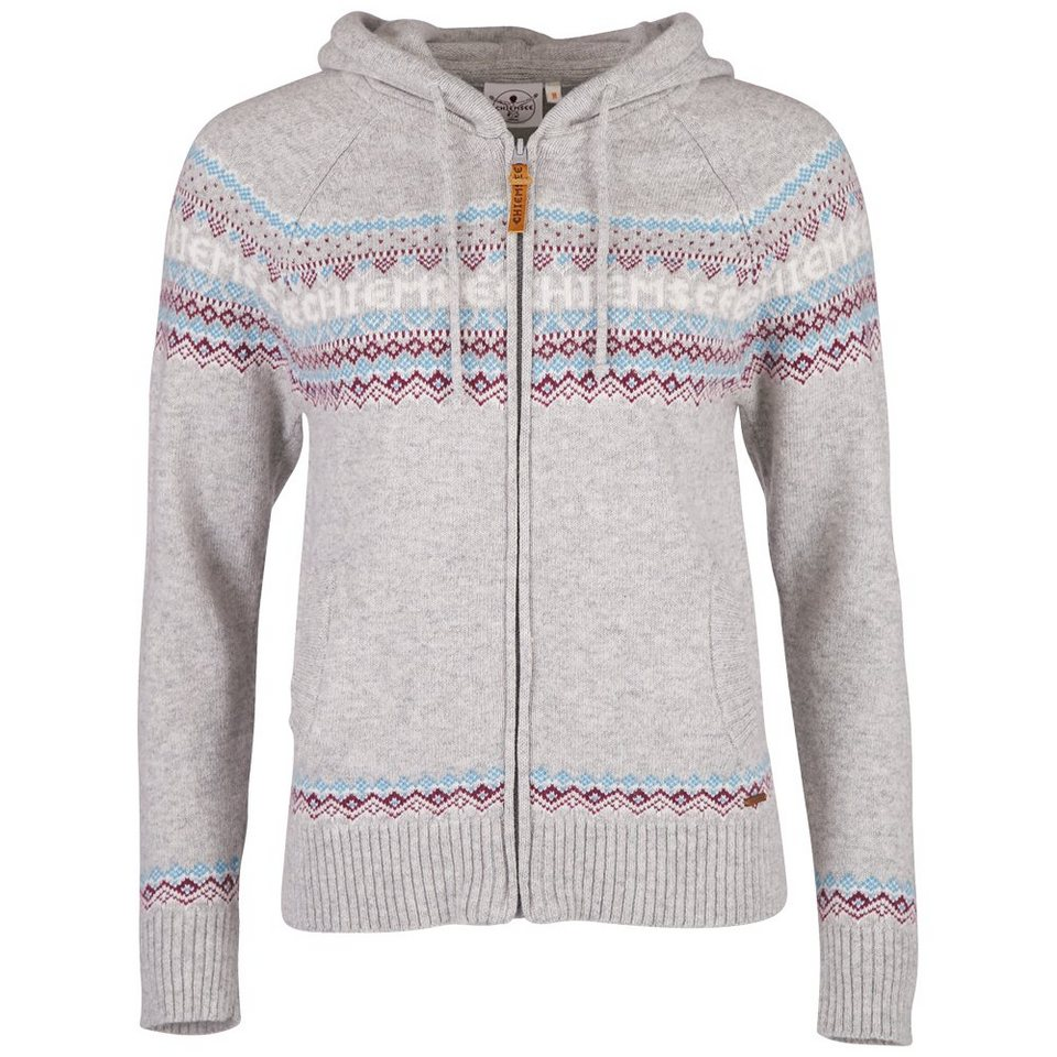 Chiemsee Damen Sweatjacke »KOHANA« in light grey