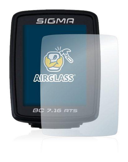 BROTECT Schutzfolie »Panzerglasfolie für Sigma BC 7.16 ATS«, Schutzglas Glasfolie klar