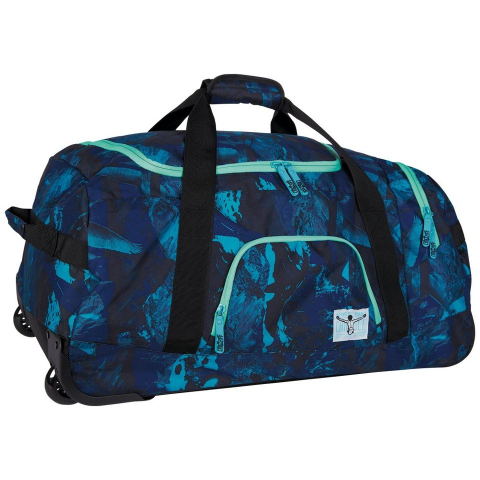 Chiemsee Reisetasche »ROLLING DUFFLE LARGE« in high altitude