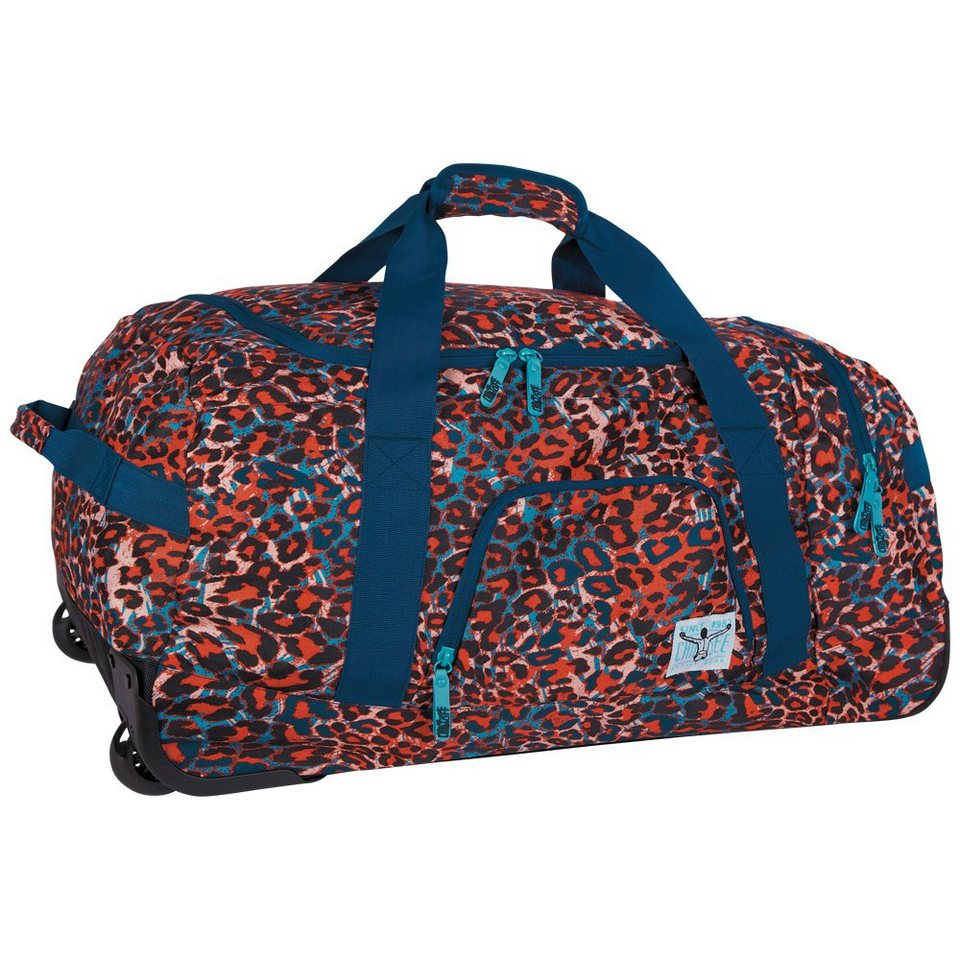 Chiemsee Reisetasche »ROLLING DUFFLE LARGE« in mega flow blue