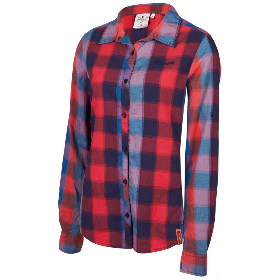 Chiemsee Bluse »HANALA« in check peacoat