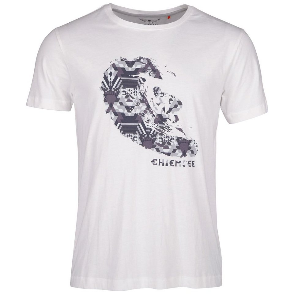 Chiemsee T-Shirt »LARRY« in clear white