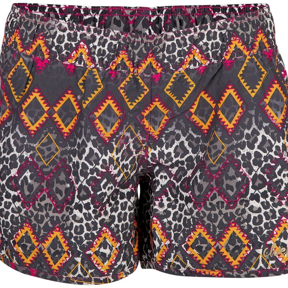 Chiemsee Shorts »CRISSI« in aztek iron gat