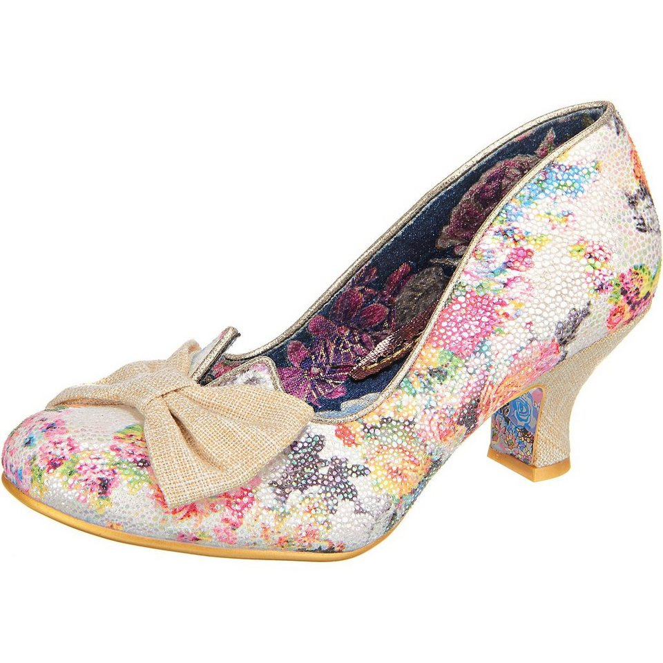 Irregular Choice Dazzle Razzle Pumps in gemustert