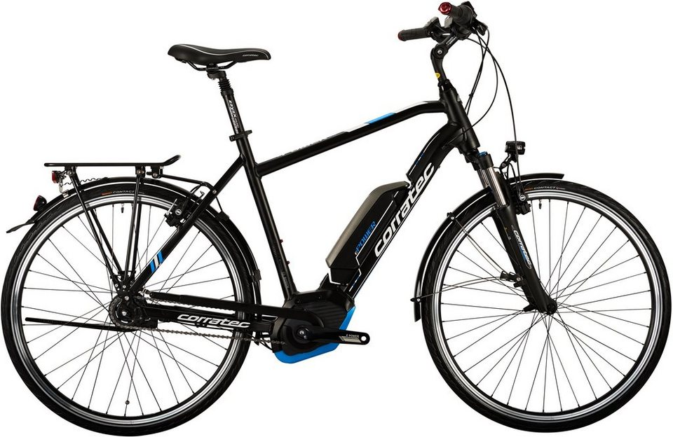 corratec e bike trekking 28 zoll 8 gang shimano e power 28 active 8s lady 400 online kaufen. Black Bedroom Furniture Sets. Home Design Ideas