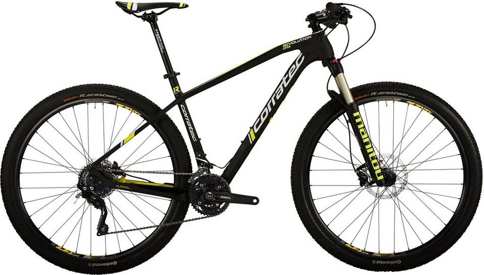 corratec carbon hardtail mtb 29 zoll 30 gang shimano. Black Bedroom Furniture Sets. Home Design Ideas