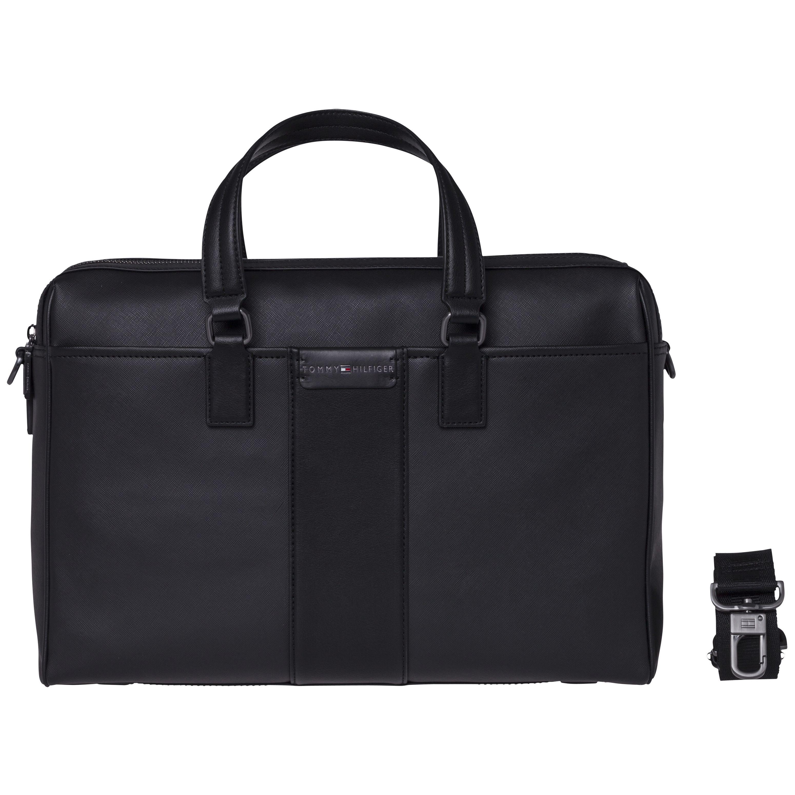 Tommy Hilfiger Handtasche »SOLID STORY WORK BAG«