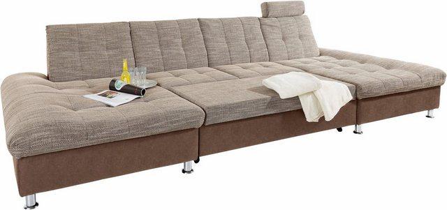 DOMO collection Wohnlandschaft, wahlweise mit Bettfunktion   Wohnzimmer > Sofas & Couches > Wohnlandschaften   DOMO collection