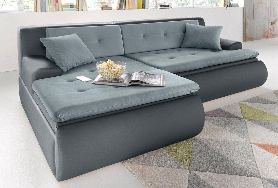 trendmanufaktur polsterecke wahlweise mit bettfunktion und bettkasten online kaufen otto. Black Bedroom Furniture Sets. Home Design Ideas