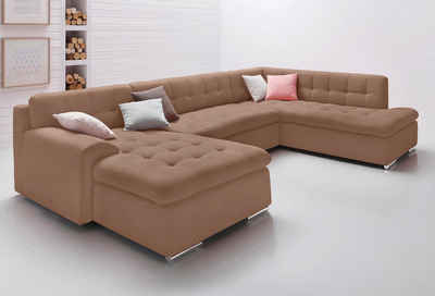 Ecksofa u form leder  Wohnlandschaft online kaufen » Sofa in U-Form | OTTO