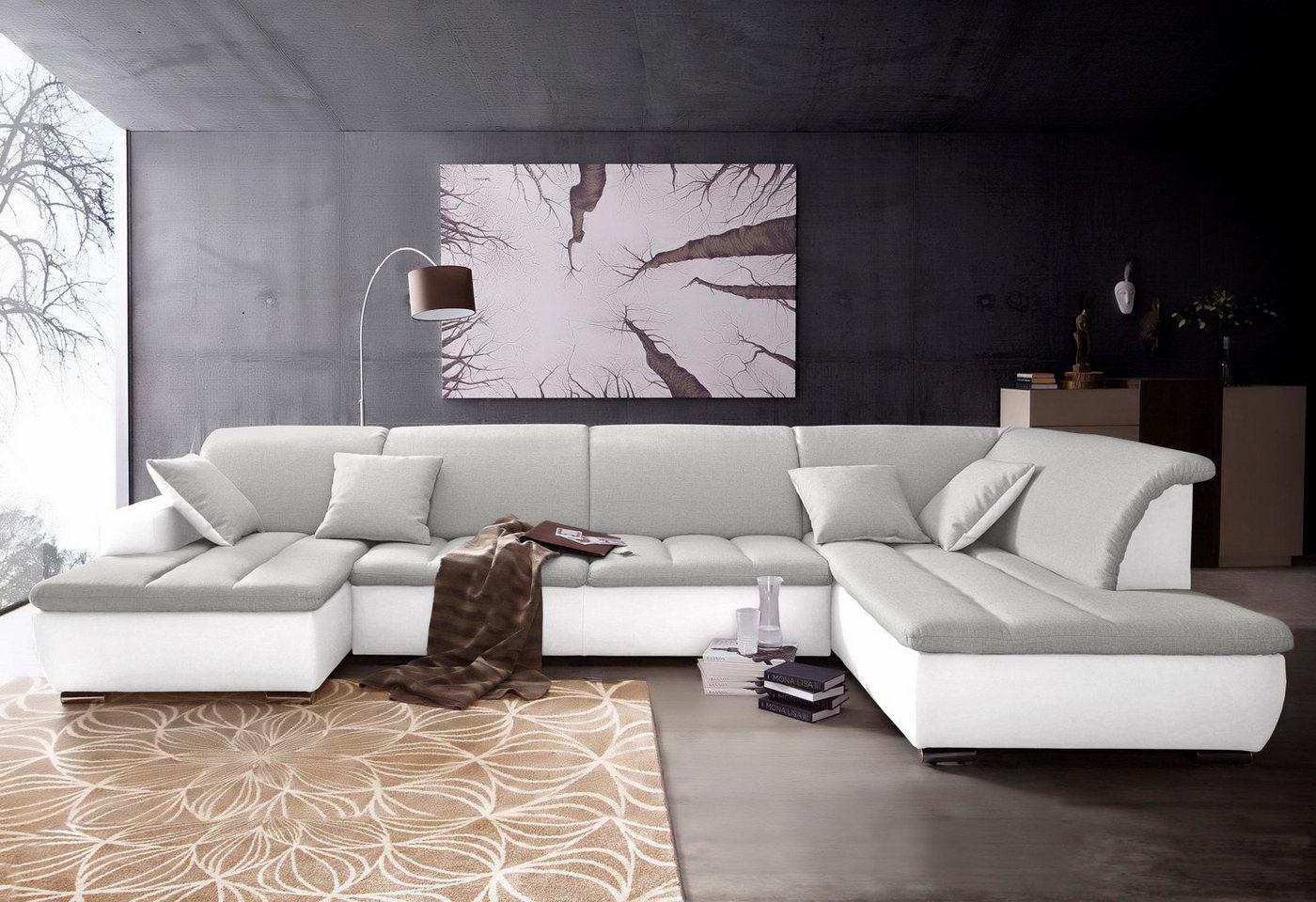 moderne wohnlandschaften machen sie den preisvergleich. Black Bedroom Furniture Sets. Home Design Ideas