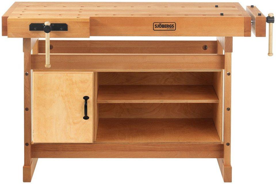 sj bergs hobelbank scandi plus 1425 schrank l b h ca 142 5 71 90 cm online kaufen otto. Black Bedroom Furniture Sets. Home Design Ideas