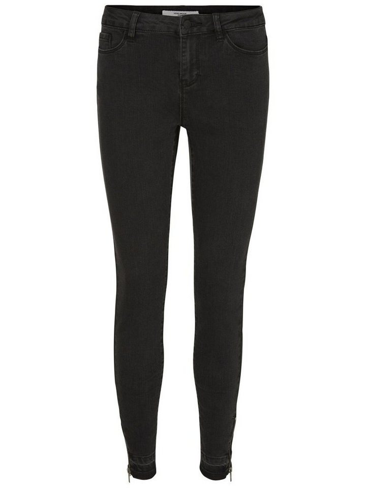Vero Moda Seven NW Ankle Skinny Fit Jeans in Black