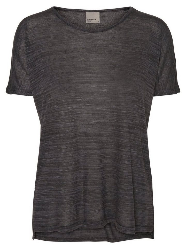 Vero Moda Loose-Fit- T-Shirt in Black