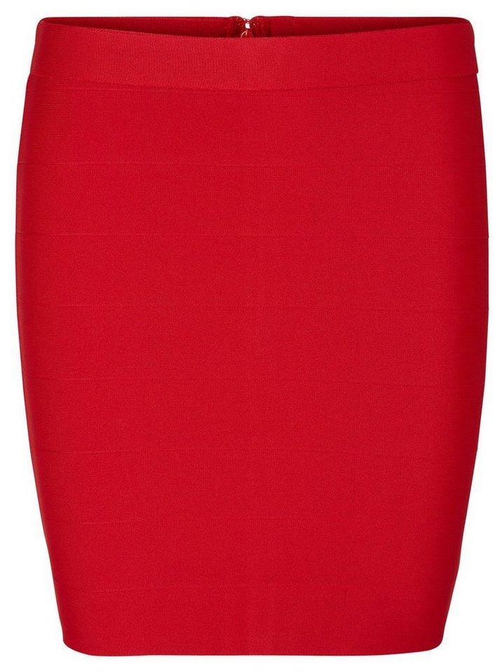 Vero Moda NW Short Rock in Lipstick Red