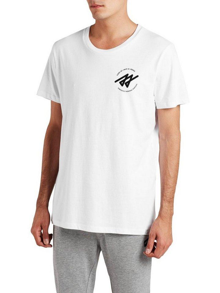 Jack & Jones Oversize- T-Shirt in White