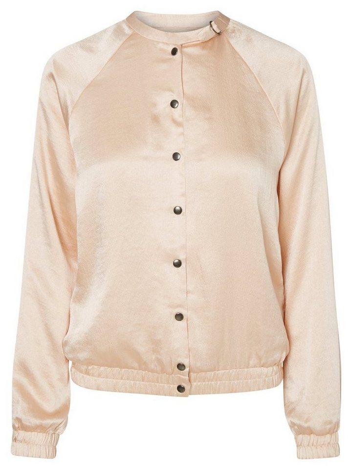 Vero Moda Bomber- Jacke in Cream Tan