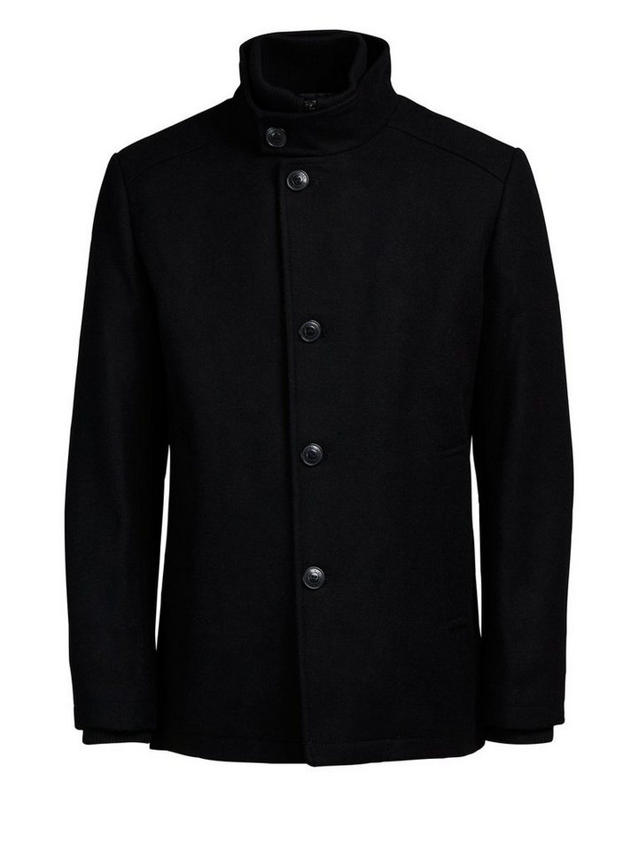 Jack & Jones Markante Woll- Jacke in Black