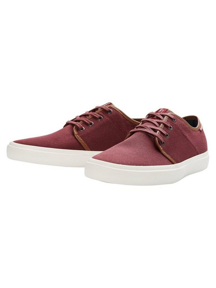 Jack & Jones Leinen- Sneaker in PORT ROYALE
