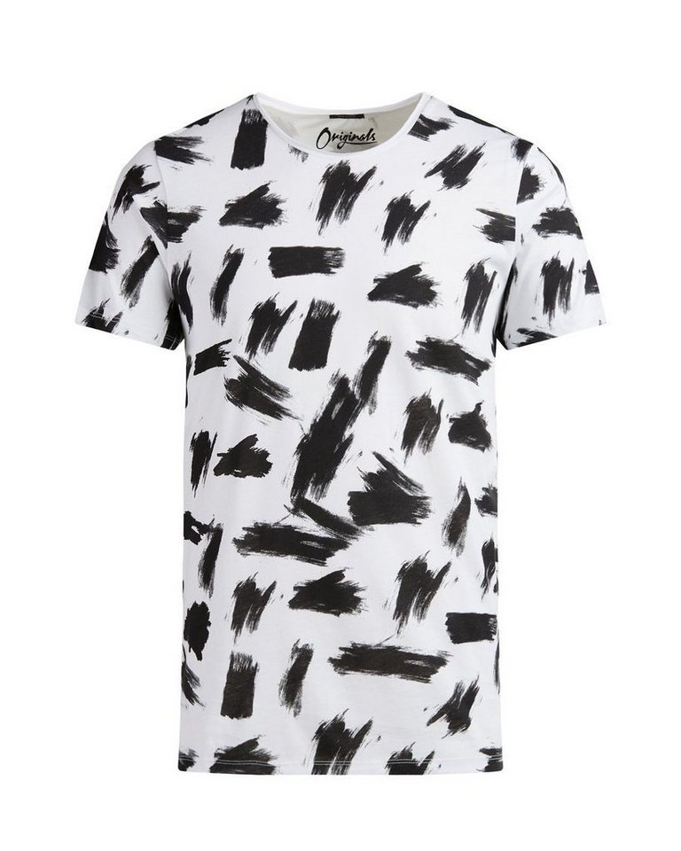 Jack & Jones Bedrucktes T-Shirt in CLOUD DANCER
